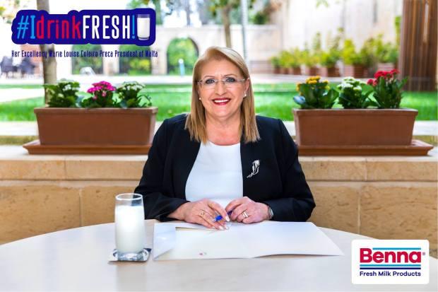 PresidentofMalta Benna